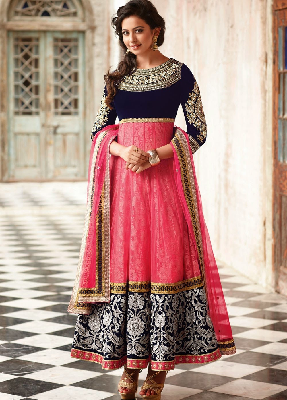 Bollywood Anarkali Embroidery Dresses Collection 2014-2015 ... Sabyasachi Bridal Collection 2014
