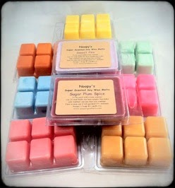 triple-scented soy wax clamshells