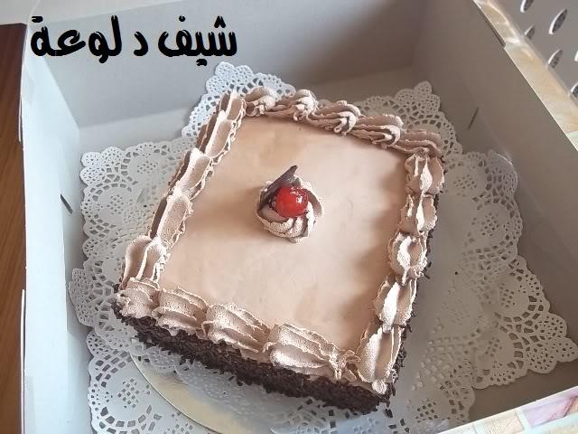 35 الكيكه الاسفنجيه للشيف دلوعه