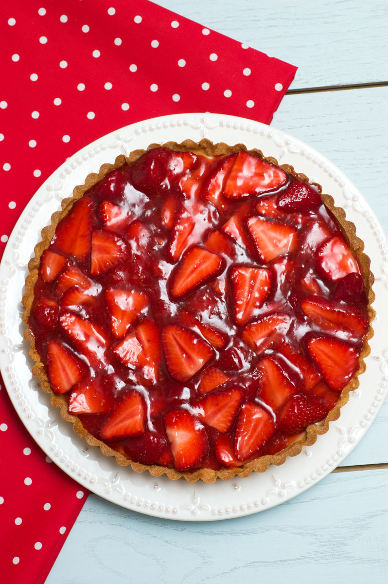 Sugar & Spice by Celeste: Gorgeous Strawberry Tart