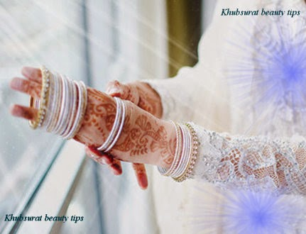 White bangles for brides