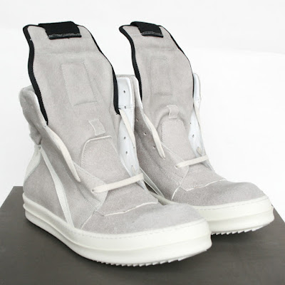 rick owens geobaskets on sale