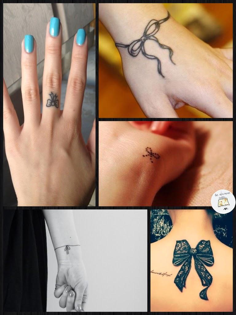 Tatuaggi quelli fashion sono piccoli le stanze della moda for Disegni piccoli per tatuaggi