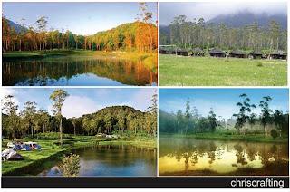 wisata alam, ranca upas bandung
