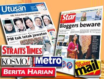 Surat Khabar, Newspaper, Paper Malaysia