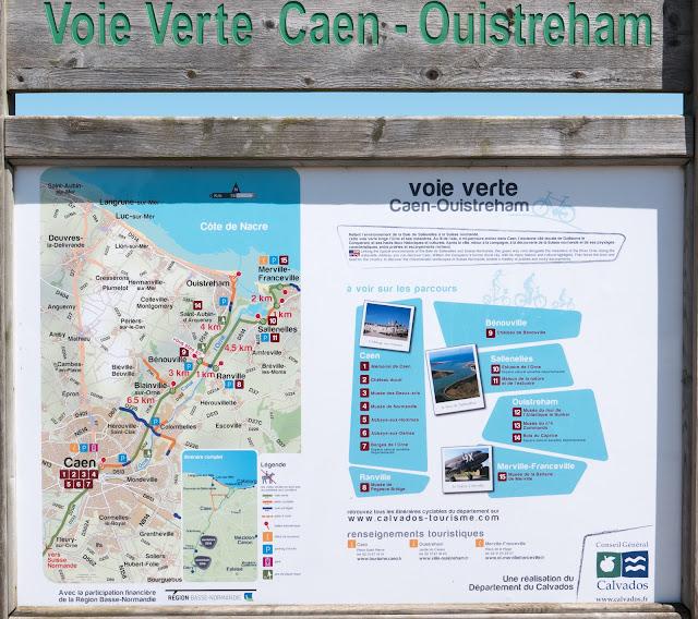 Randonnée à vélo : Voie verte de Caen - Ouistreham