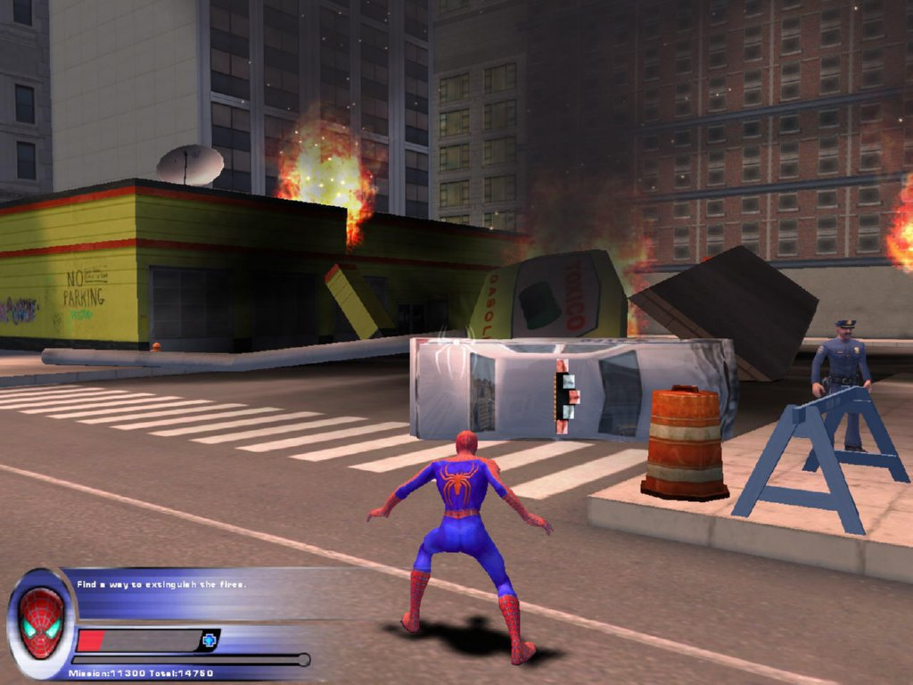 Spiderman 2 Game ScreenShot
