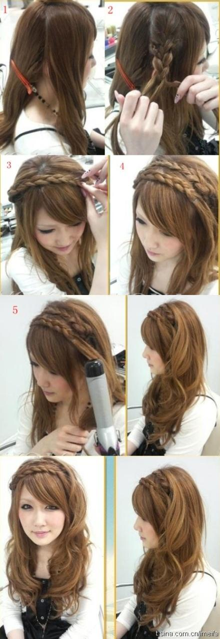 Long hair style summer braids tutorial