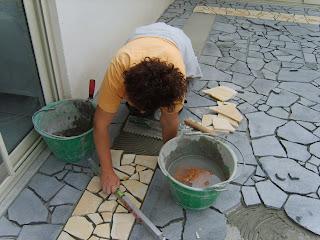 Piastrellista pavimento in pietra lavica - Piastrellista cerca lavoro ...