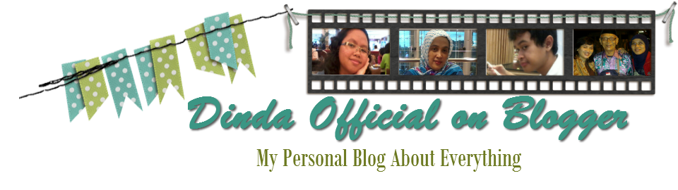 Dinda Official on Blogger