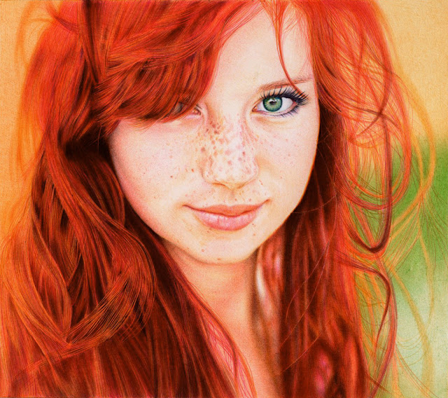 Ballpoint Pen Red Head