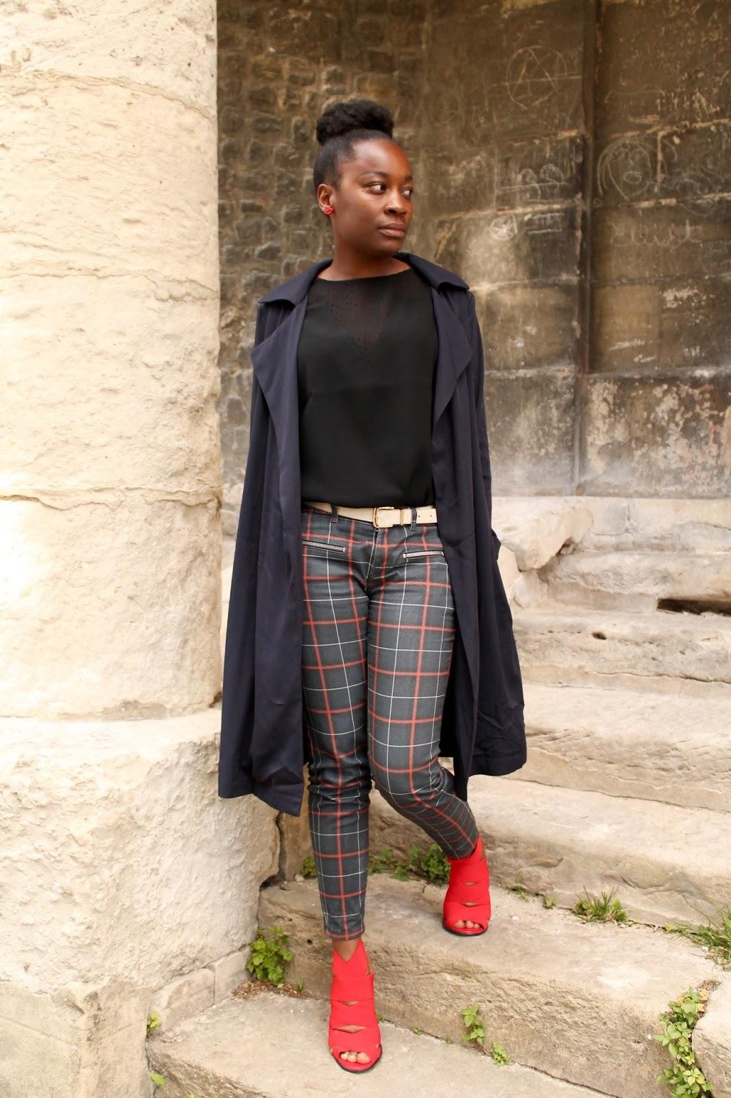 blogmode-lafillefauchee-hype-tendance-pantalonacarreau-chaussuresrouges-petitbudget