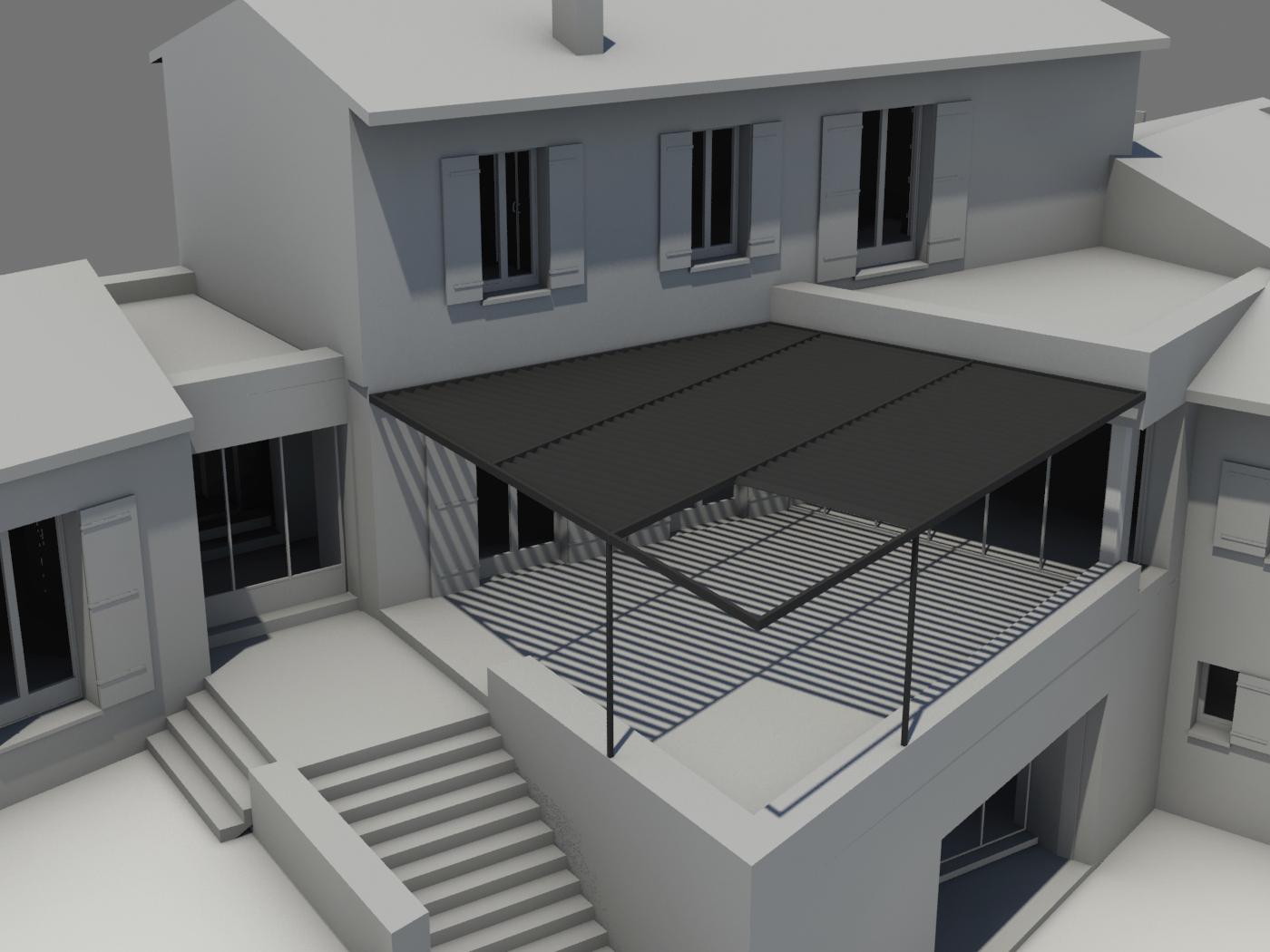 Designer d 39 espace graphiste 3d architectural treille gordes vaucluse at home architecture At home architecture gordes 84