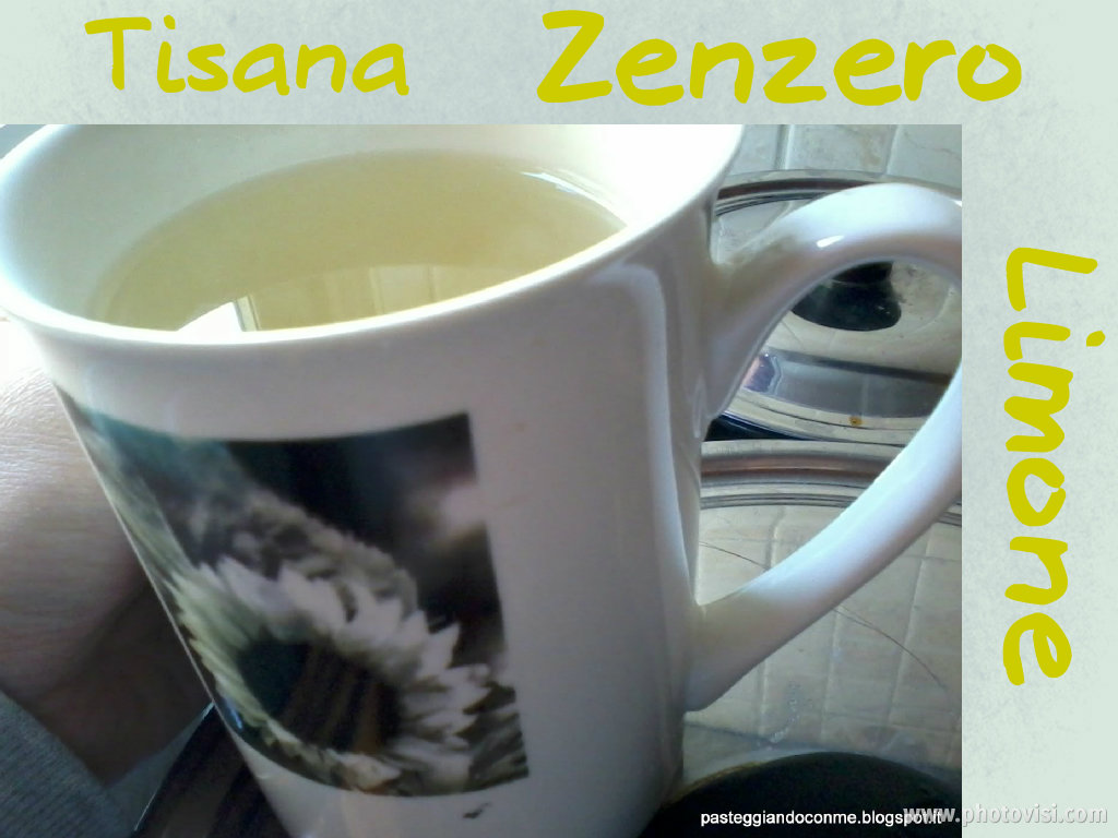 tea allo zenzero