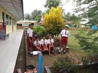 Pelepasan Perpisahan Siswa Sd Negeri 1 Megang Sakti Tahun 2012