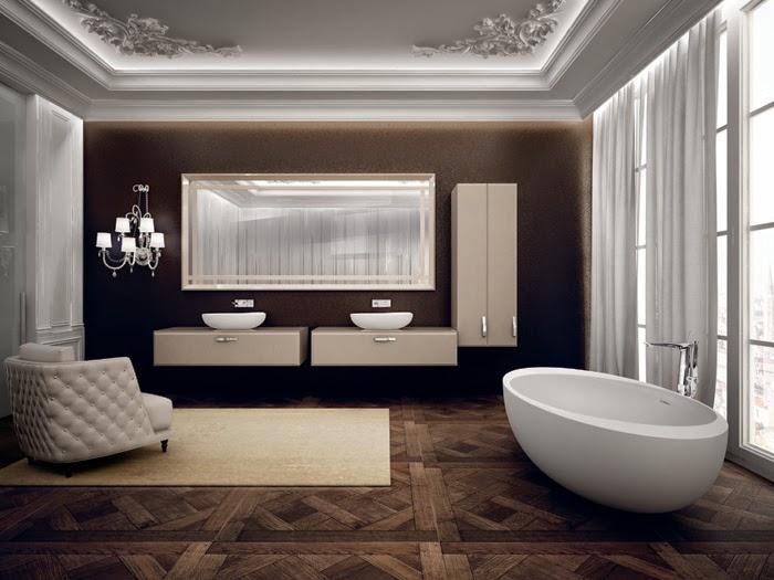 Sala Da Bagno Stile Contemporaneo : Seaseight design focus on stanza da bagno da sogno