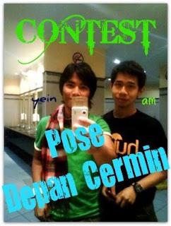 """1st Contest Dari xcyber : Pose Depan Cermin"""