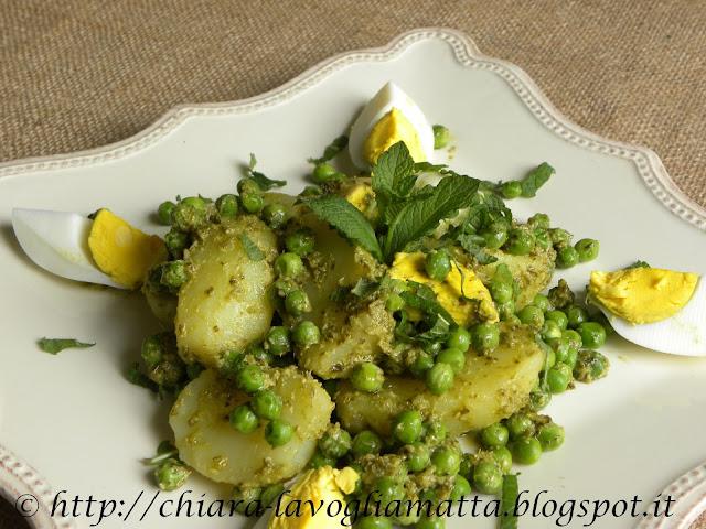 insalata di patate primaverile