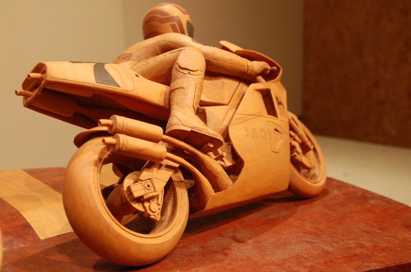 Carved curves mick doohan my first in the round carving