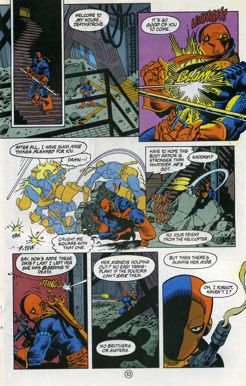Deathstroke (1991) Issue #3 #8 - English 17