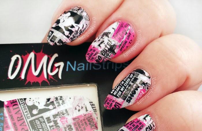 Omg nail strips by @unitedinbeauty