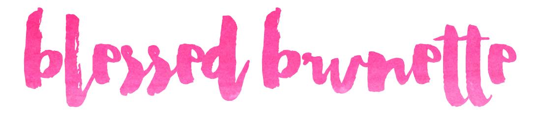 Blessed Brunette