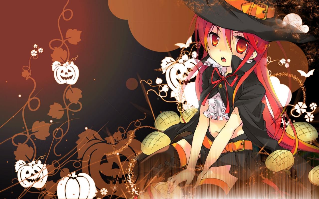 cute anime halloween wallpapers wallpapers de