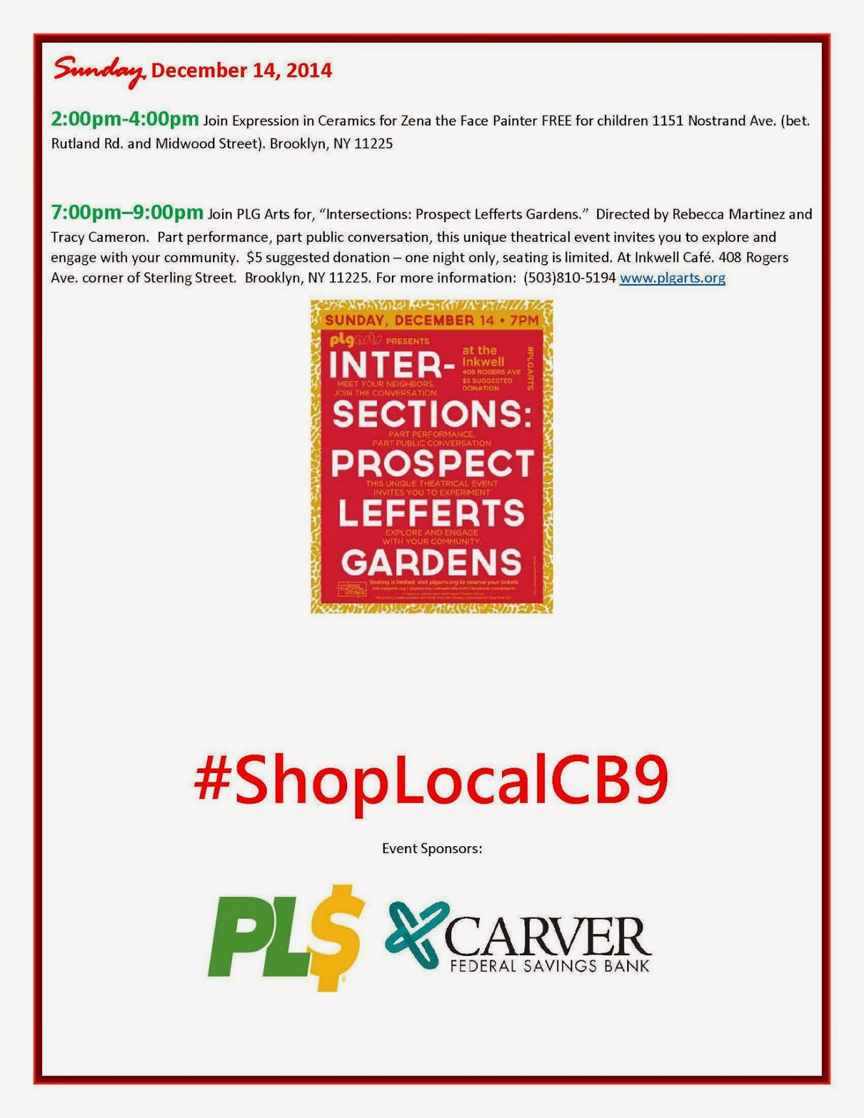 nostrand avenue merchants association shop local cb9 nama highlights 13th 14th