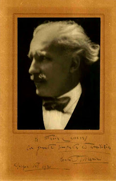 An extraordinary autographed presentation photograph of Arturo Toscanini