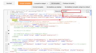 Cara Mudah Mendapatkan Kode Verifikasi Webmaster Tools di Blog Terbaru
