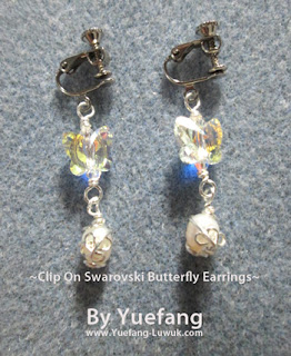 Clip_on_earrings_with_swarovski_5754_butterfly_and_caged_pearls