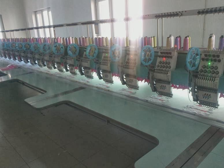 nakış makinaları - nakış işleme merkezi 2