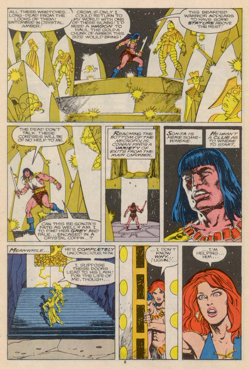 Conan the Barbarian (1970) Issue #205 #217 - English 9
