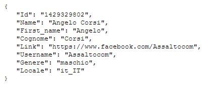 id facebook angelo corsi