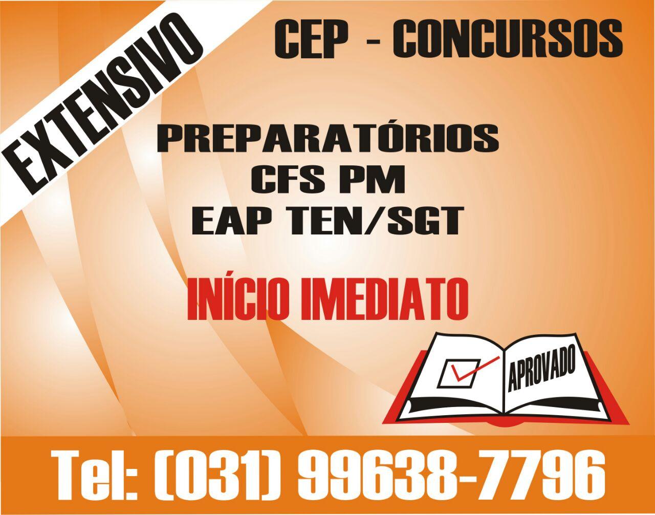 CEP Concursos - CFS e EAP