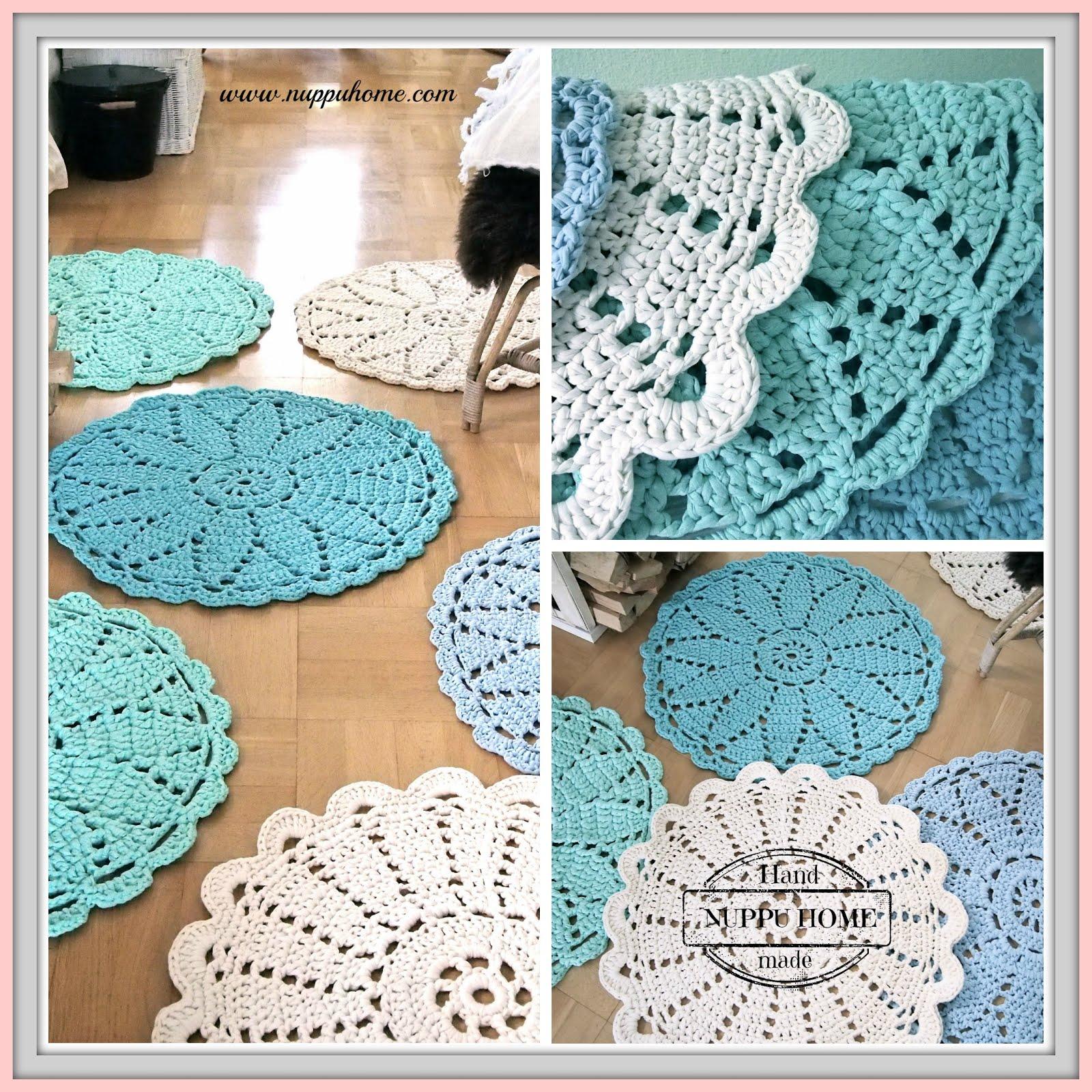 Pyöreitä mattoja