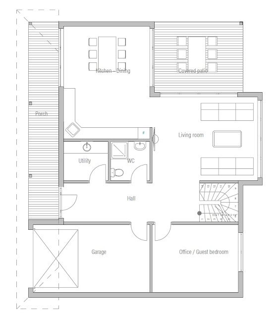 Affordable Home Plans Economical House Plan Ch180