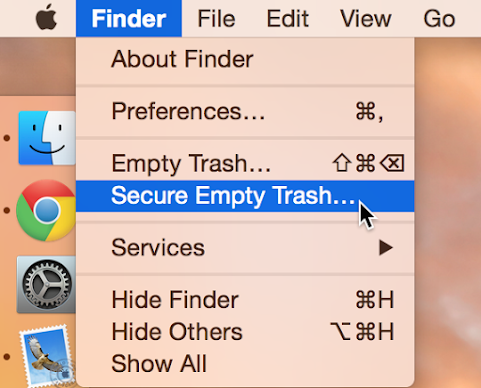 Secure Empty Trash Mac