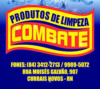 PRODUTOS DE LIMPEZA  COMBATE