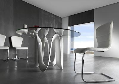 Mesas de comedor por la decoradora experta 3 mesas de for Mesa diseno cristal
