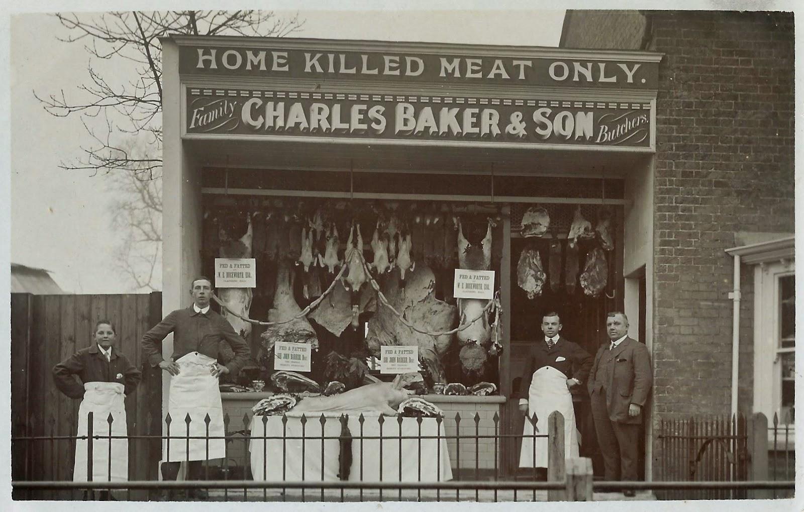 Ash Cottage Little Hadham victorian butchers shop