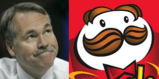 Mike D'Antoni looks like the pringles guy