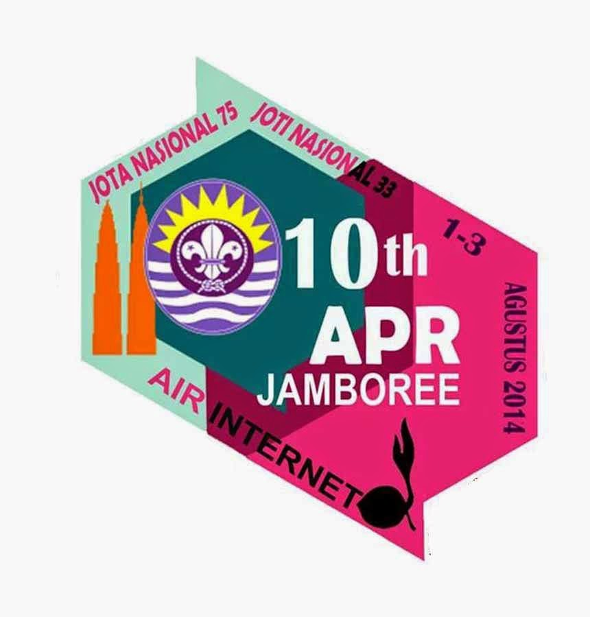 Logo JOTA/JOTI Nasional dan APR Air/Internet Jamboree 2014