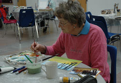 Artist Joan Page