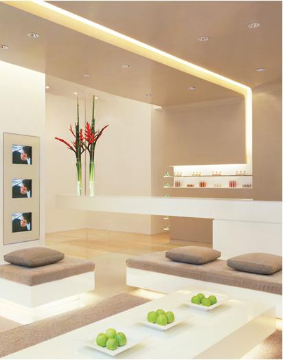 decoracao em lampadas:Por Dentro Design: GESSO E ILUMINAÇÃO