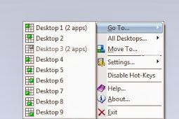 9Desk 1.8 - Membuat virtual desktop serta memperbanyak desktop