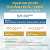 Bay cùng Vietnam Airlines tuyến nội địa chỉ với 599.000 ĐỒNG