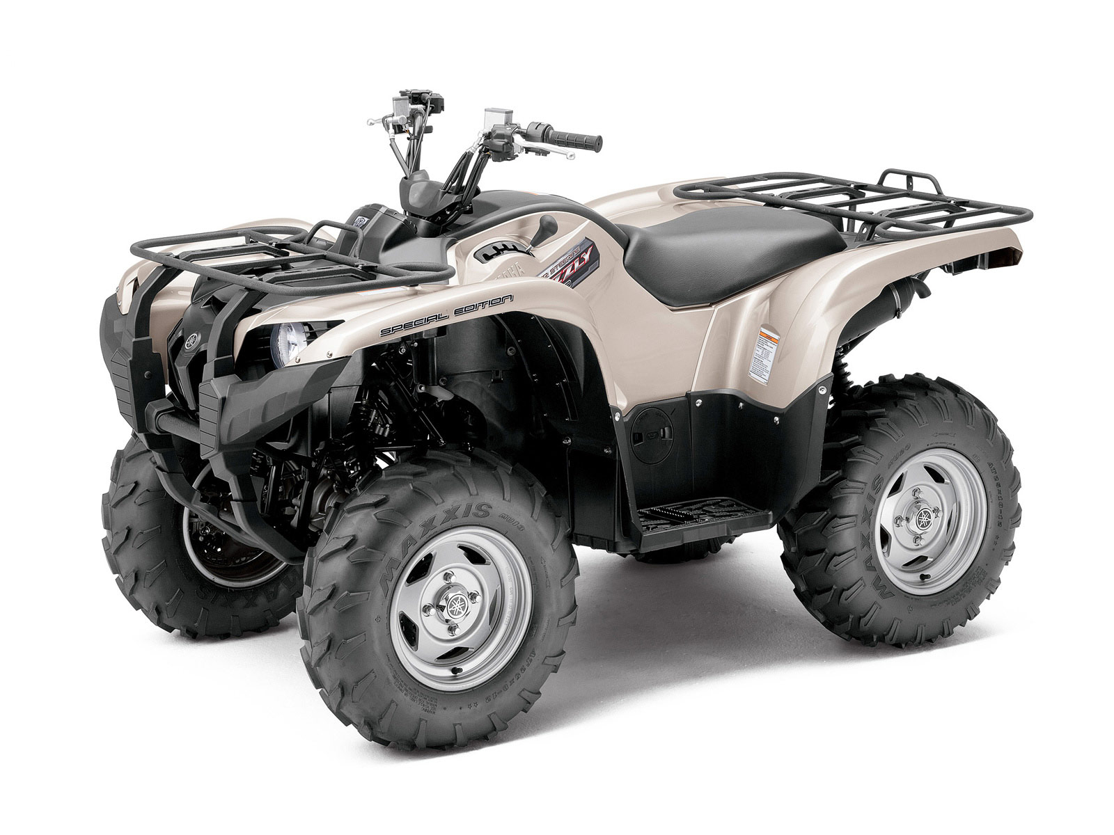 2012 yamaha grizzly 700 fi auto 4x4 eps special edition for Yamaha grizzly atv