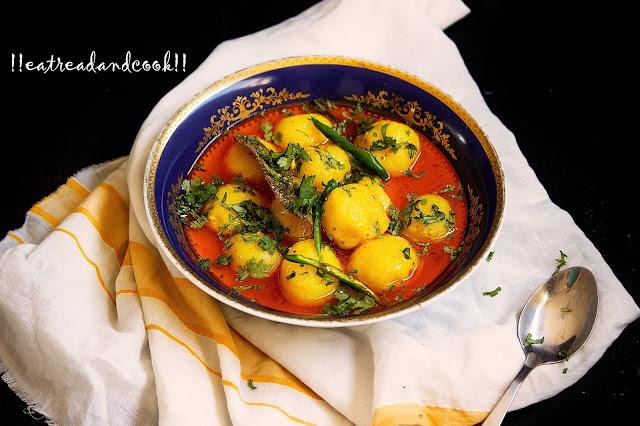 how to cook dahi aloo recipe