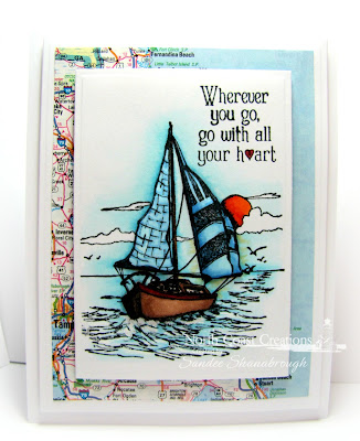 North Coast Creations Stamp sets: Sail Away